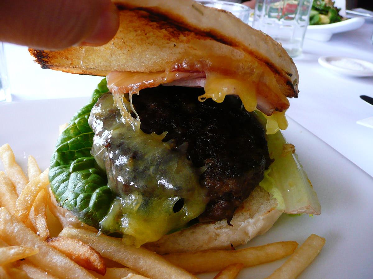 Royal Cheeseburger innards