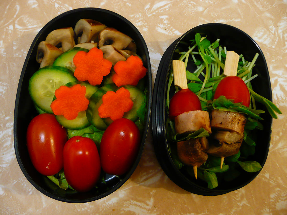 My bento side dishes