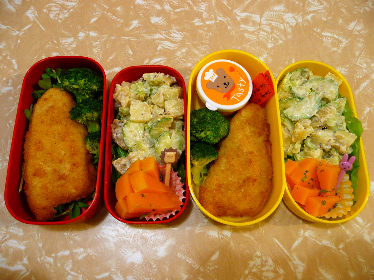 Hers and hers bento