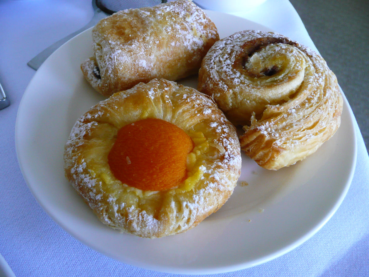 Selection of danishes