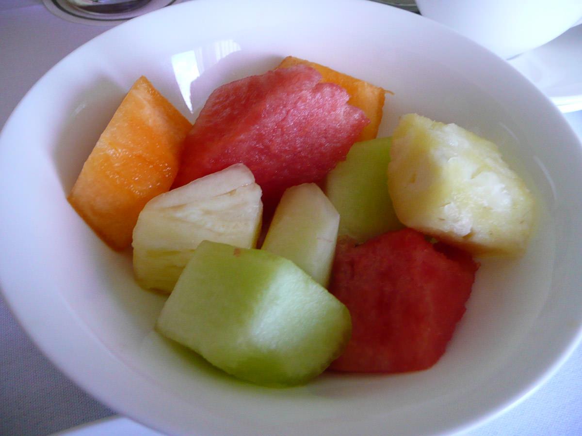 Fresh fruit - honeydew melon, rockmelon, watermelon, pineapple