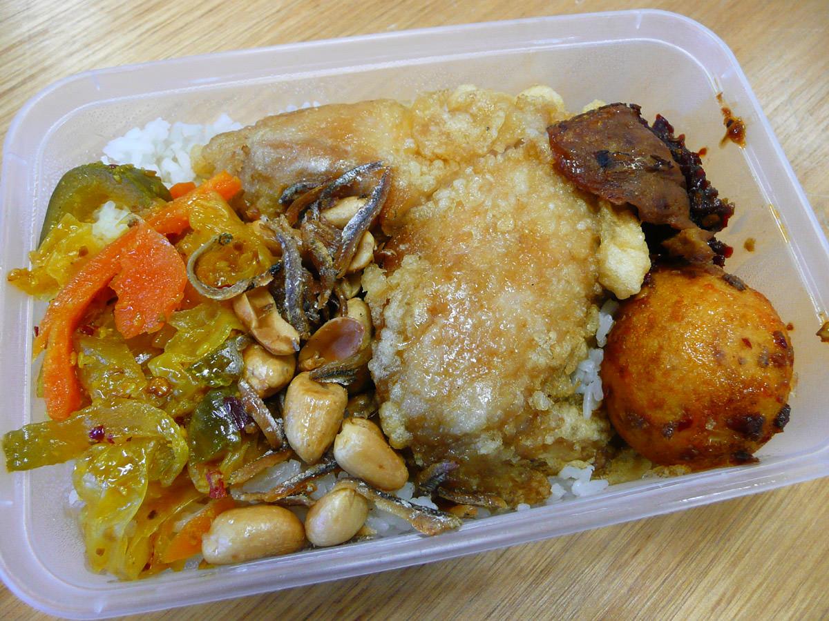 Takeaway nasi lemak