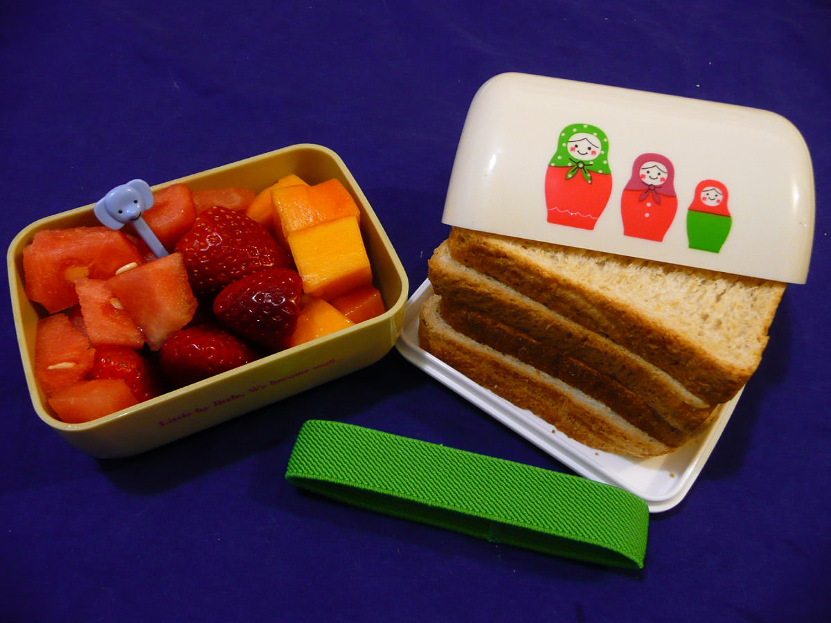 Jac's fruit and bread