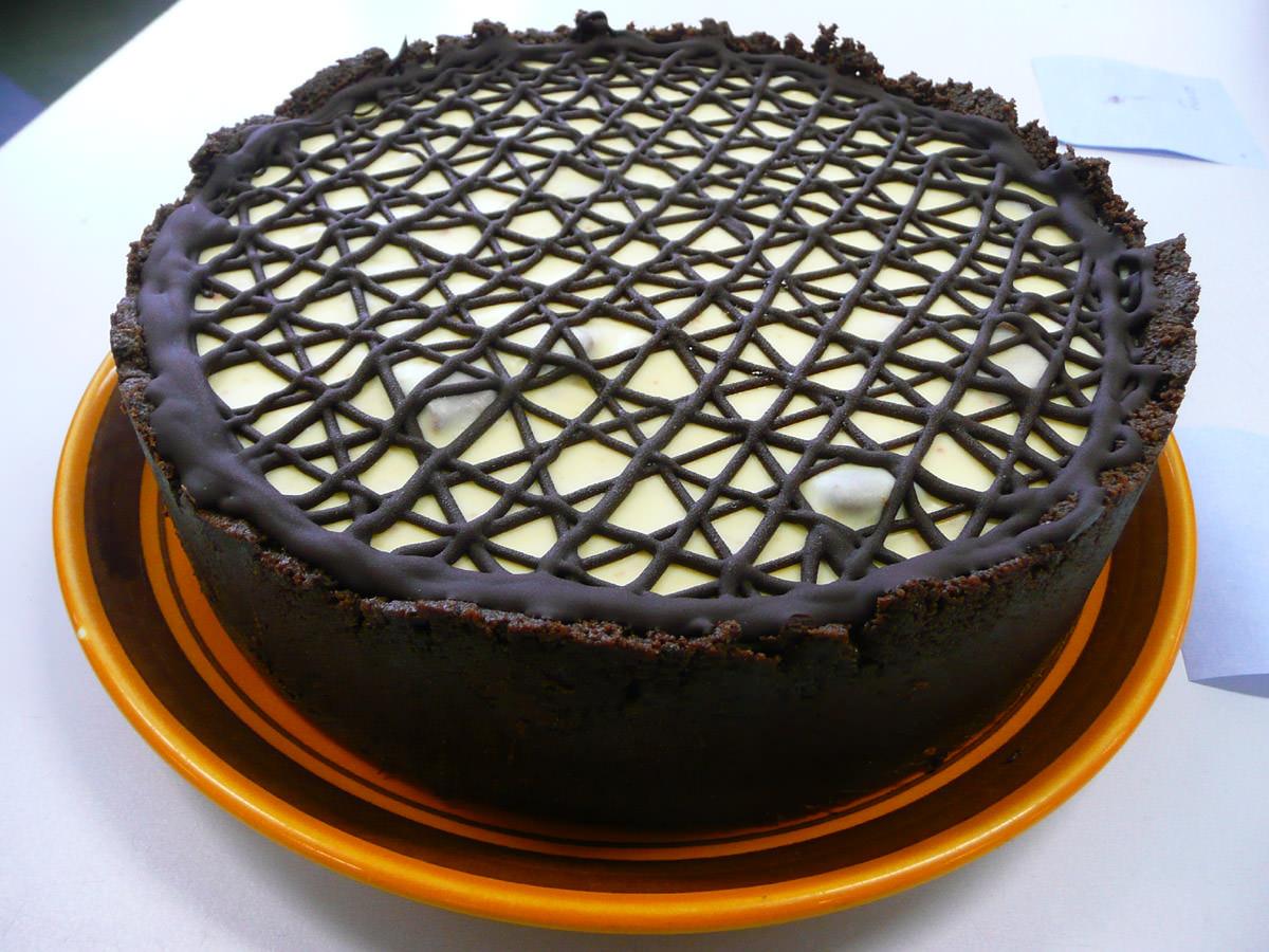 Tim Tam cheese cake