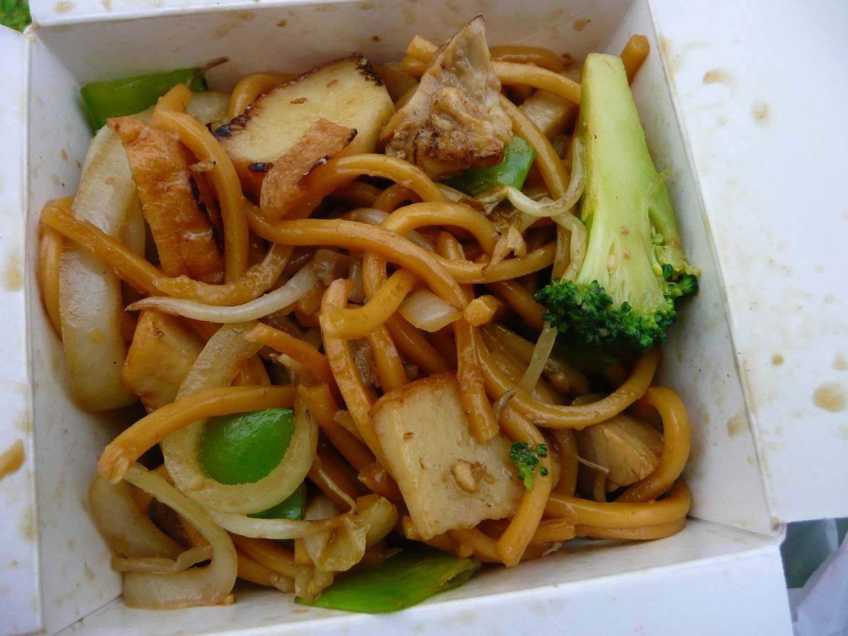 My design your own noodles from Noodlebox
