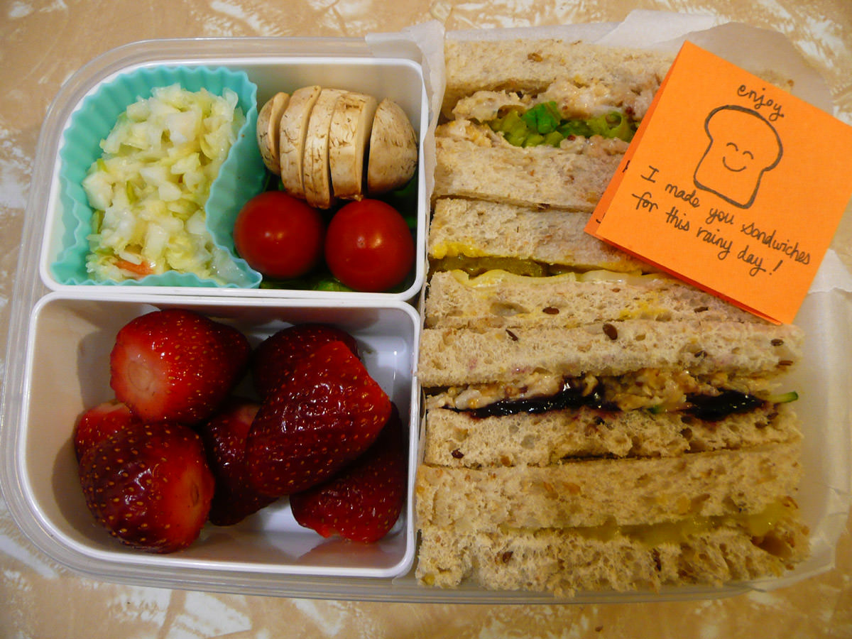 Jac's Thursday sandwich bento