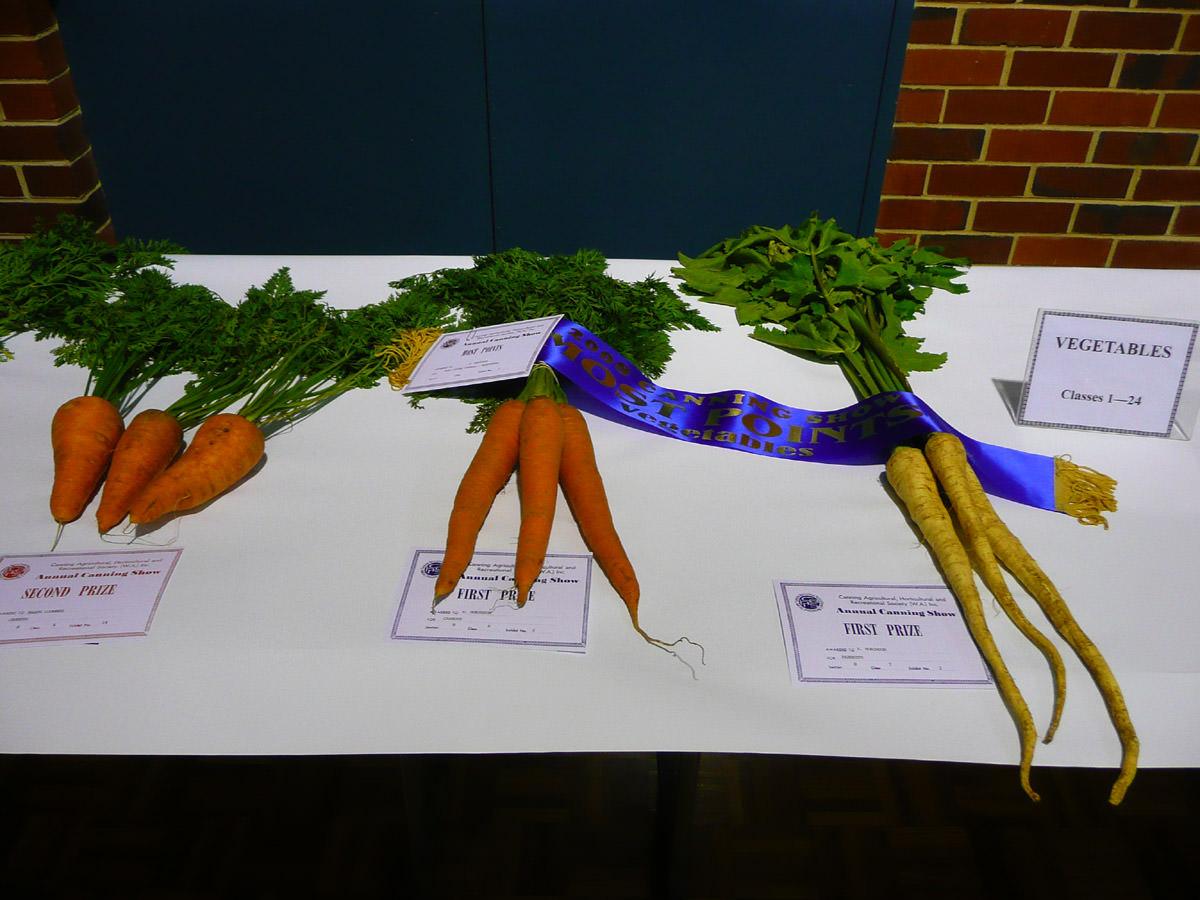 Champion vegetables