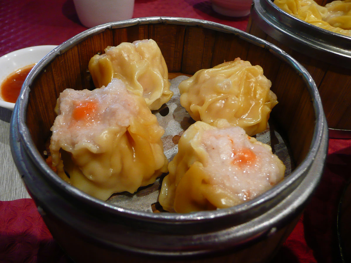 Siew mai - steamed pork dumplings
