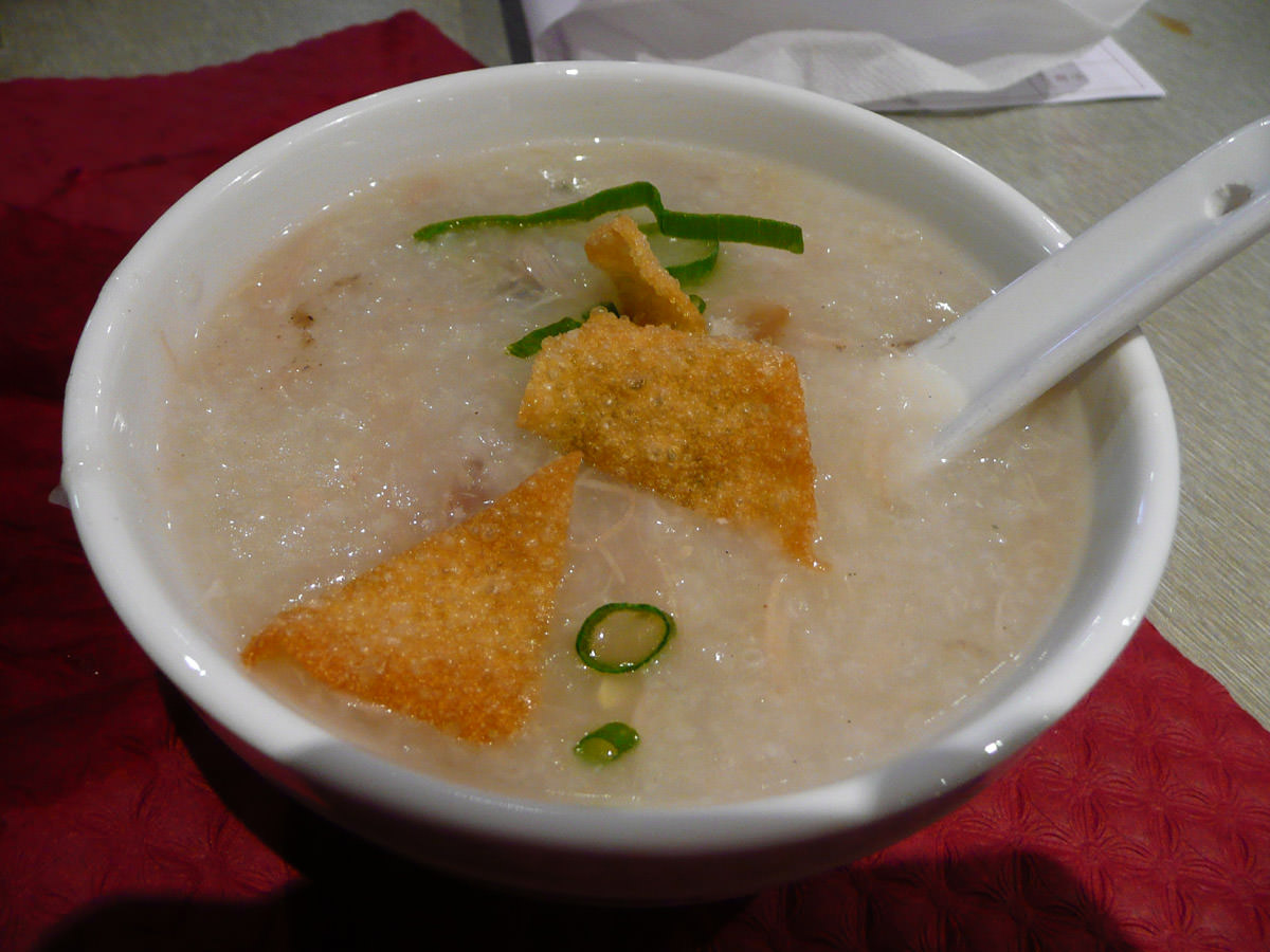 Pork rice porridge