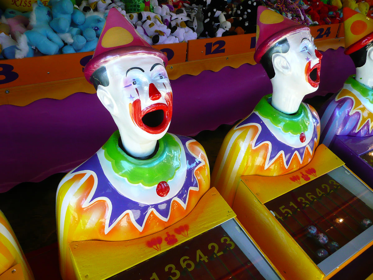 Hope you're not afraid of clowns