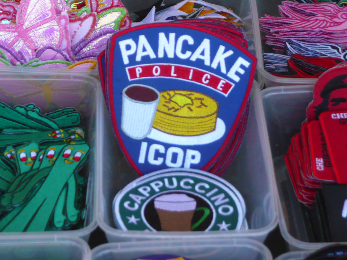 Watch out for the pancake police!