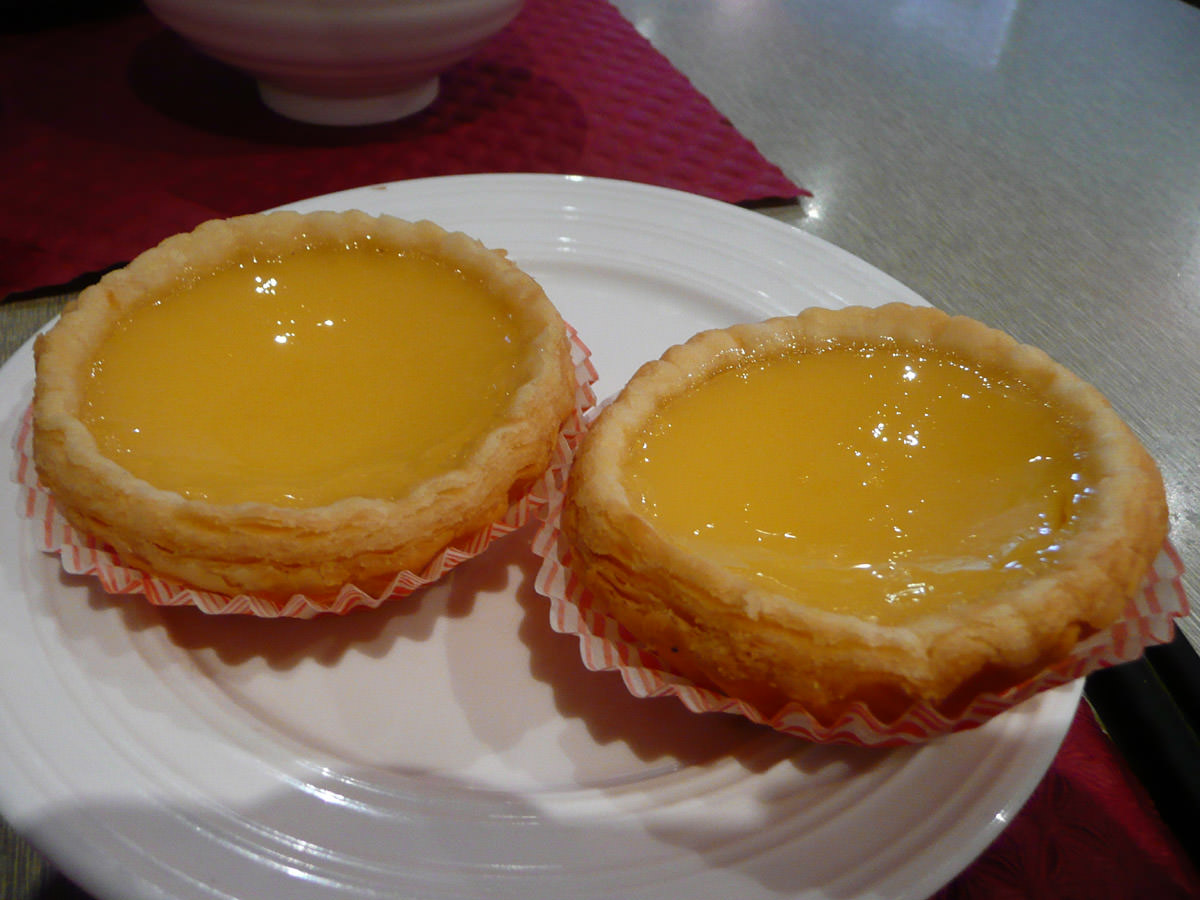 My favourite - egg tarts