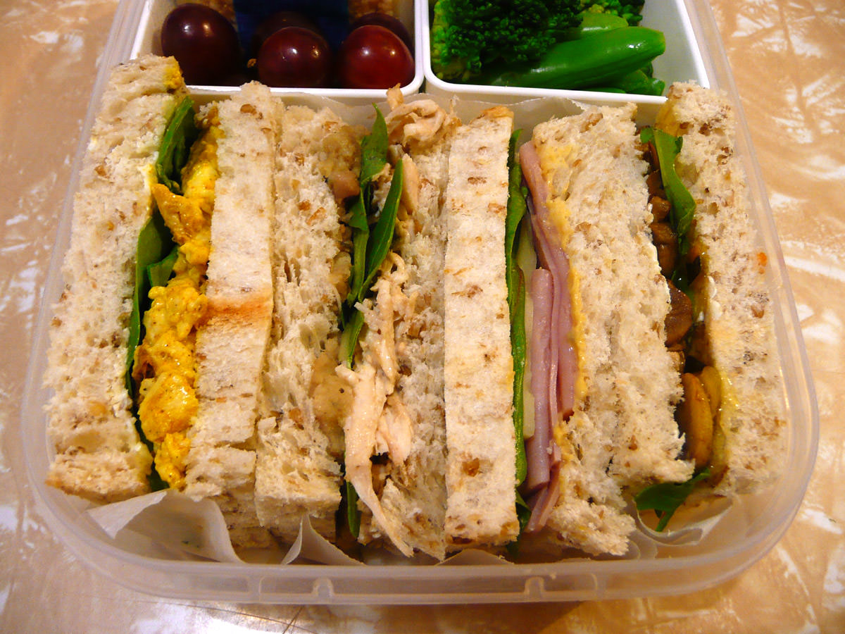 Sandwiches from my bento