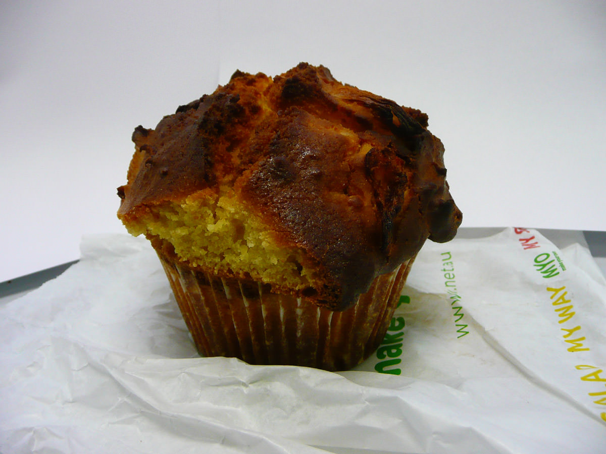 Pineapple muffin from MYO