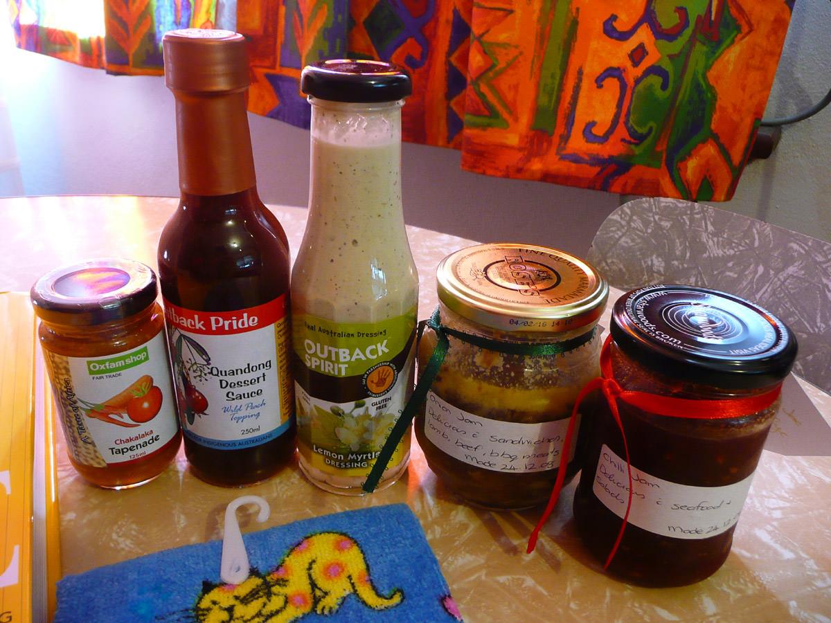 Christmas gift foods
