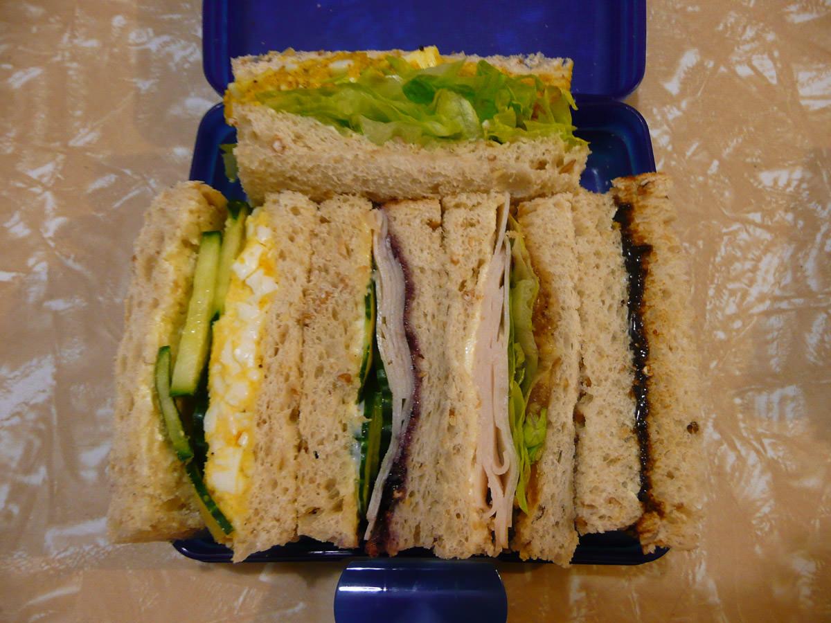 Jac's sandwiches