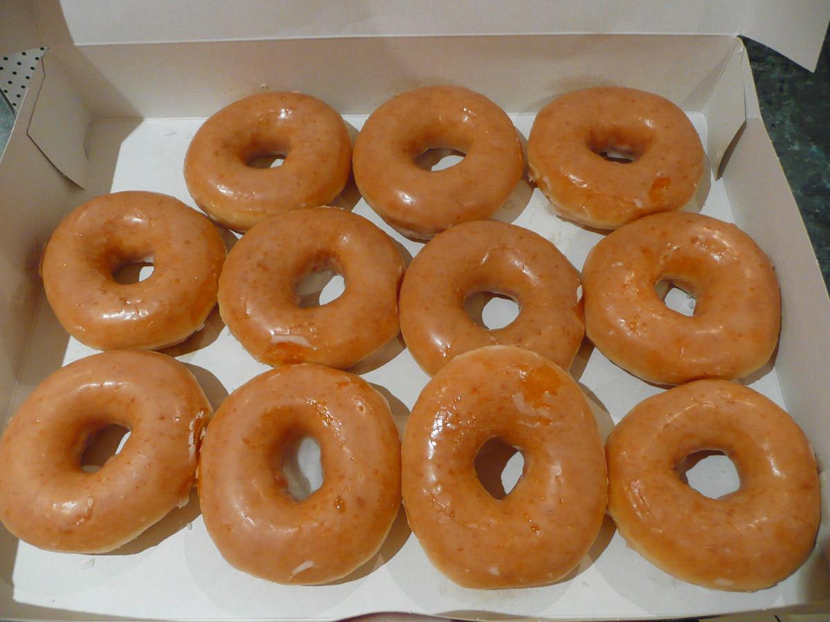 Original Glazed Krispy Kremes