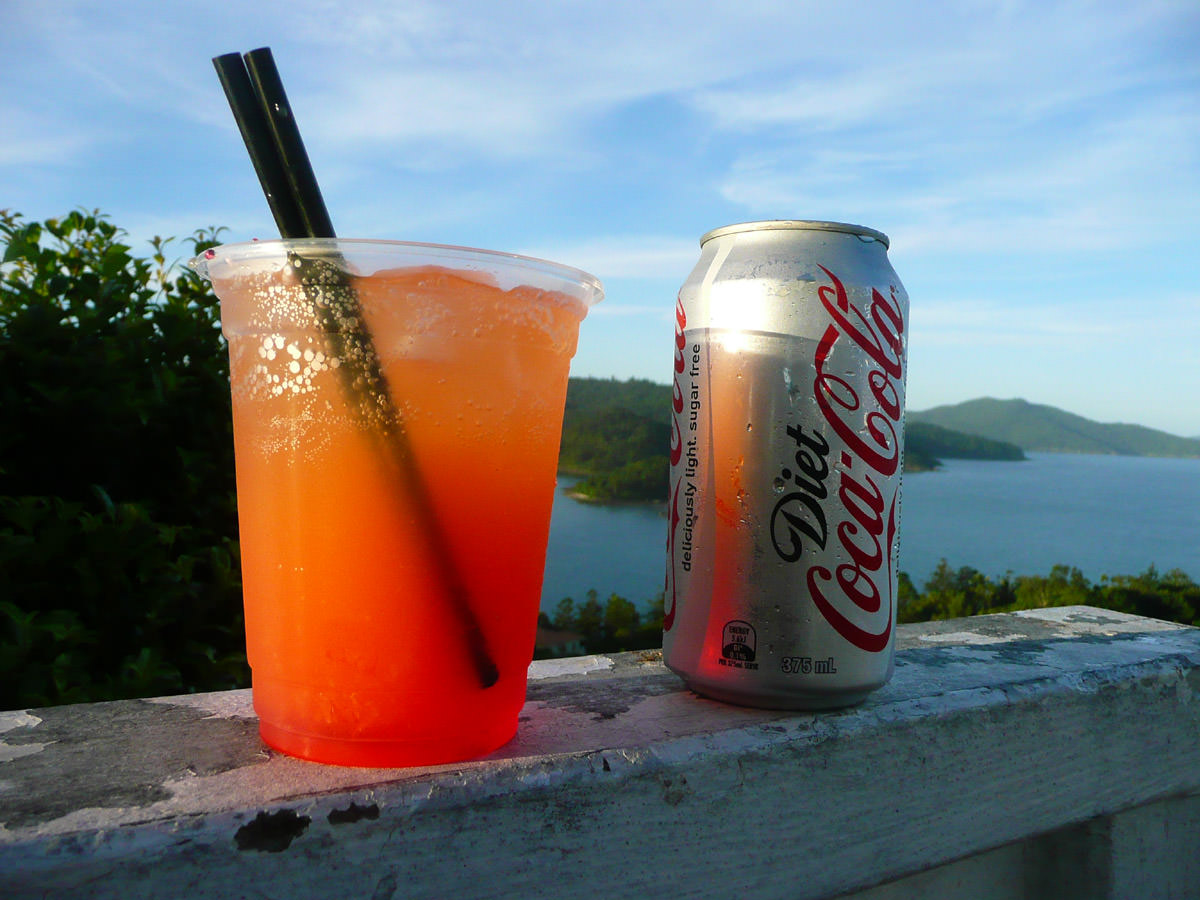 Drinks at the lookout