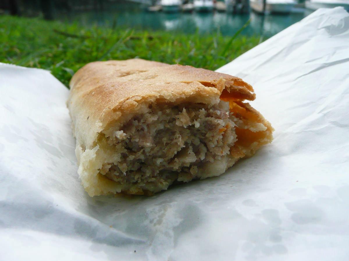 Sausage roll innards