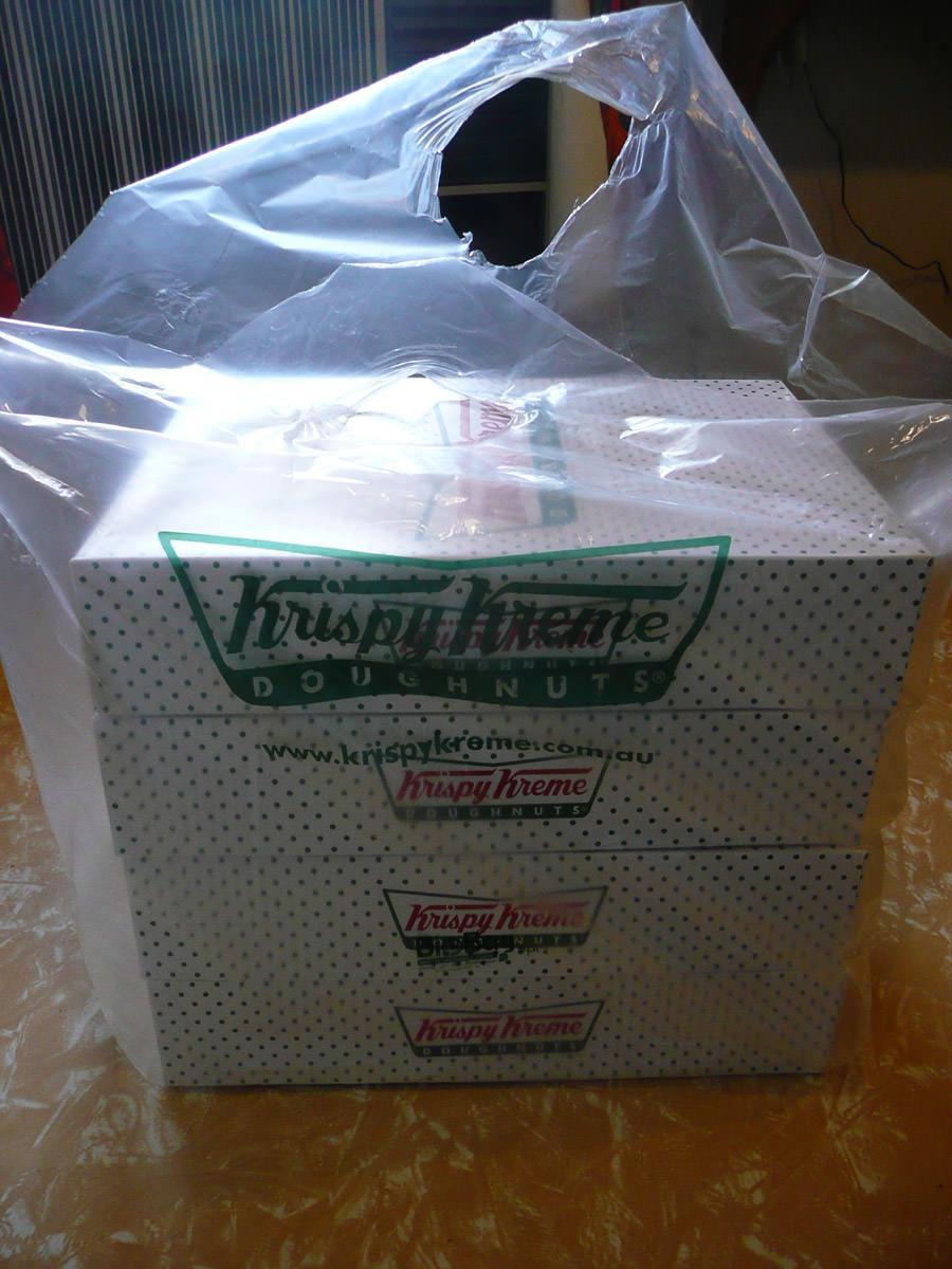 Krispy Kreme Sampler
