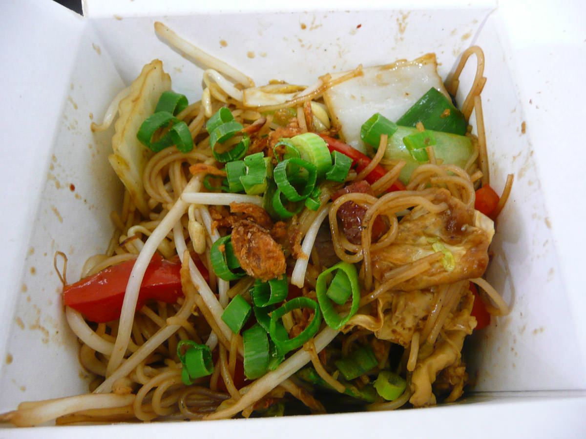 Yet another version of Singapore noodles