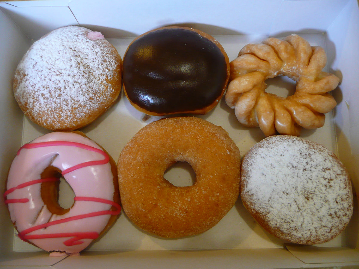 Assorted Krispy Kreme Doughnuts