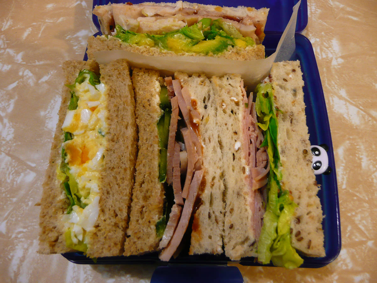 Jac's sandwich bento