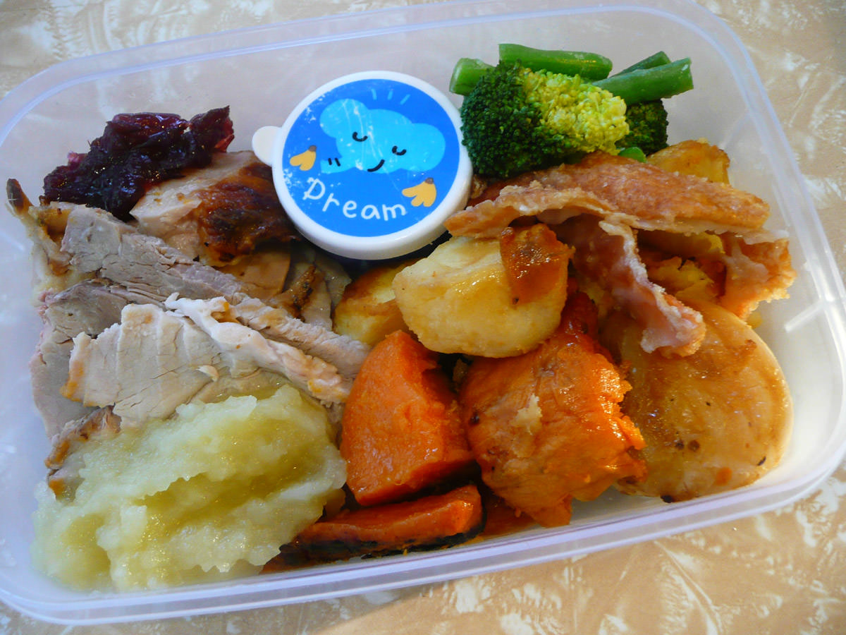 My two roast bento lunch