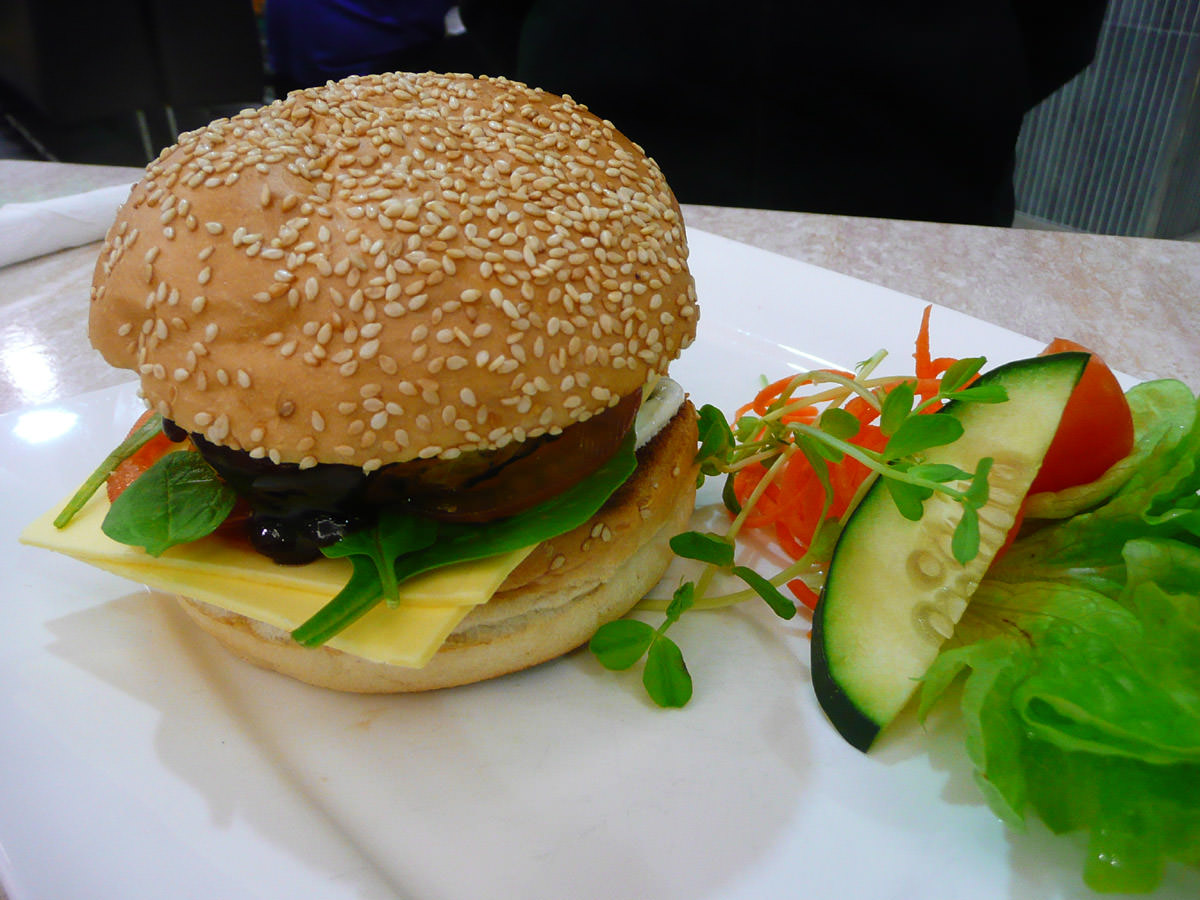 Vegie burger