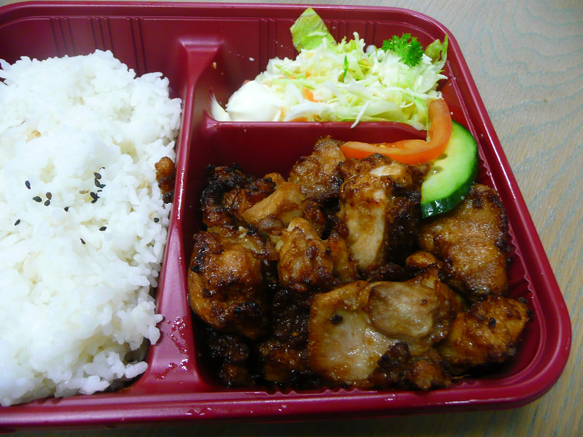 Chicken karaage set - oh yeah, fried chicken