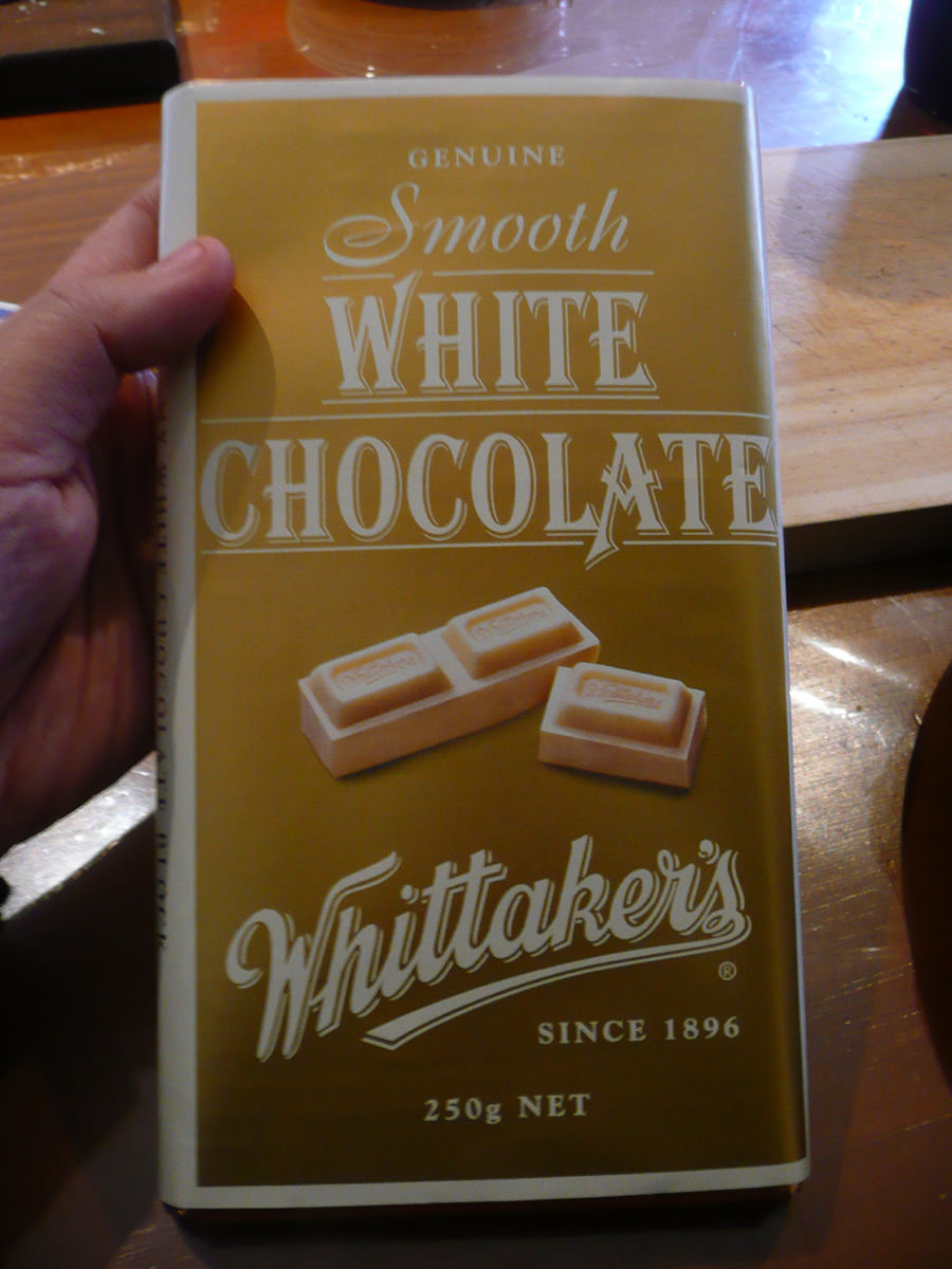 Mum's white chocolate