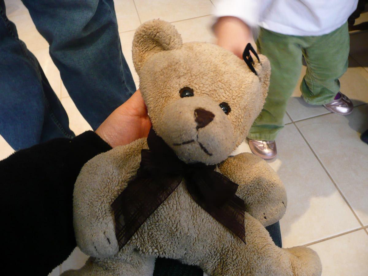 Ruby's teddy