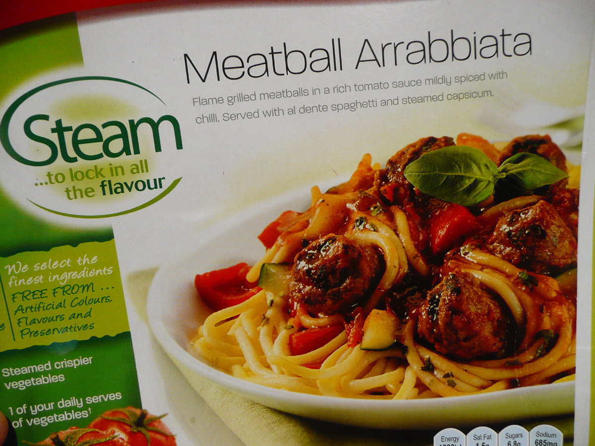 Lean Cuisine - Meatball Arrabbiata - box