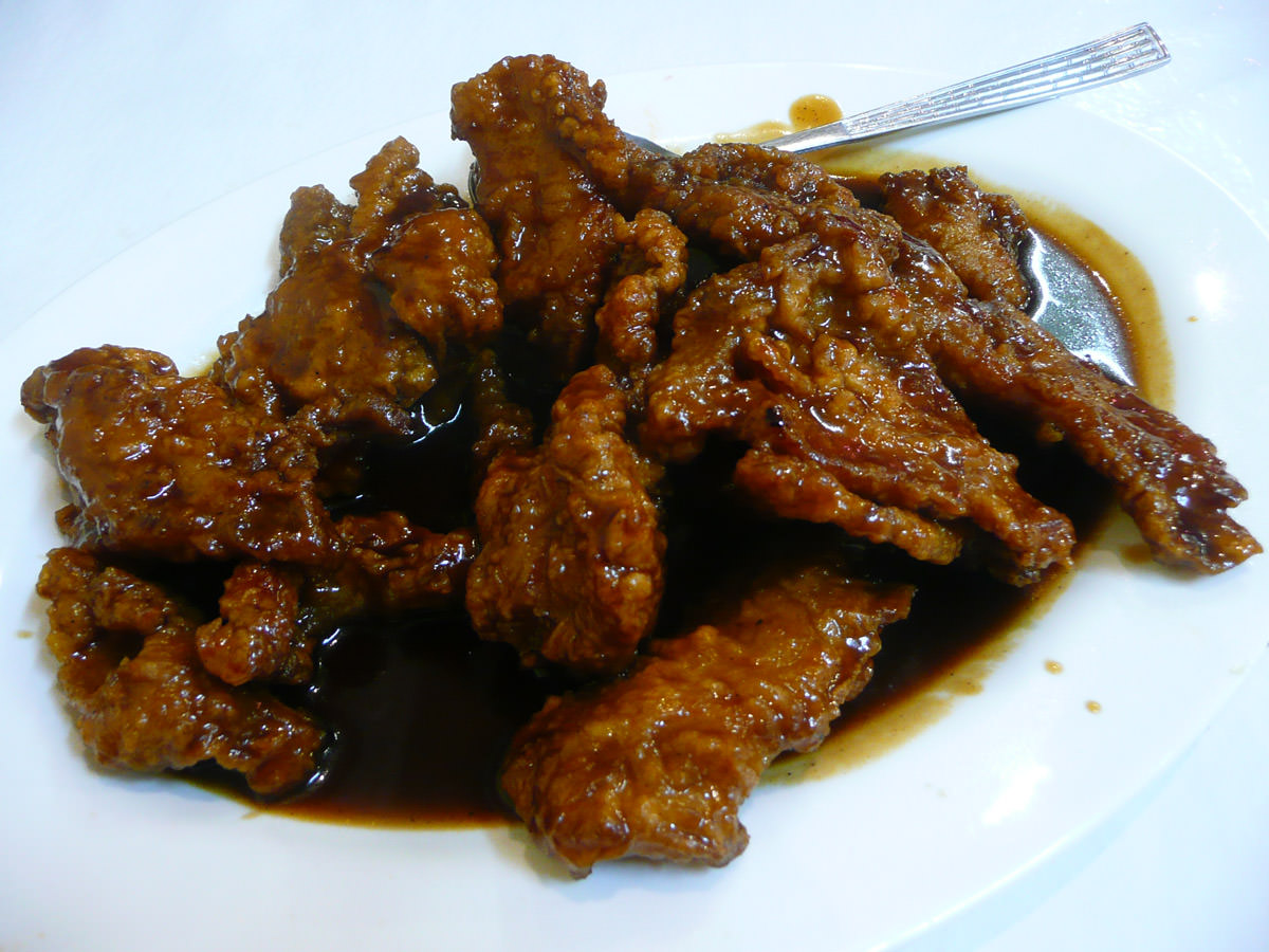 Peking spare ribs
