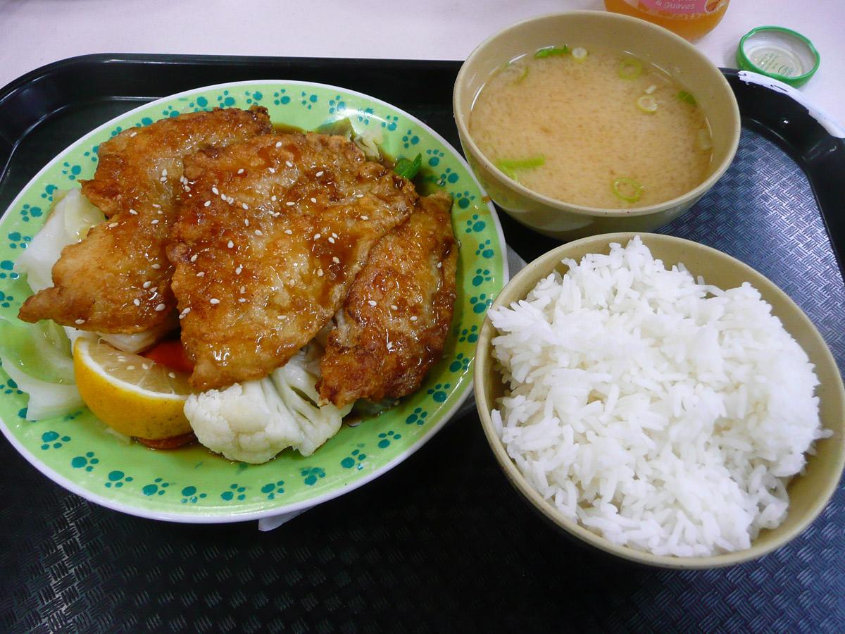 Teriyaki fish set