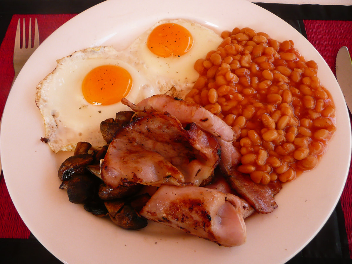 My breakfast fry-up
