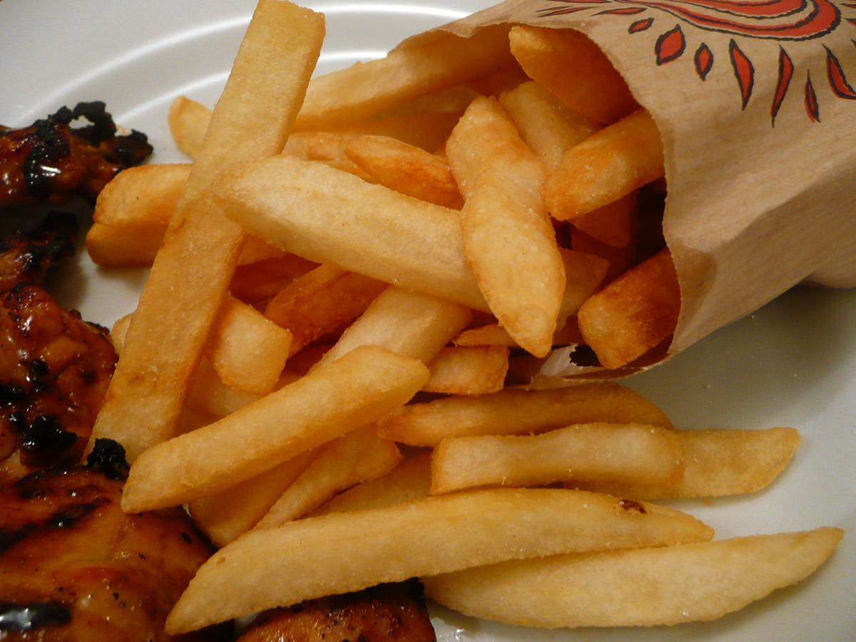 Crispy chips!