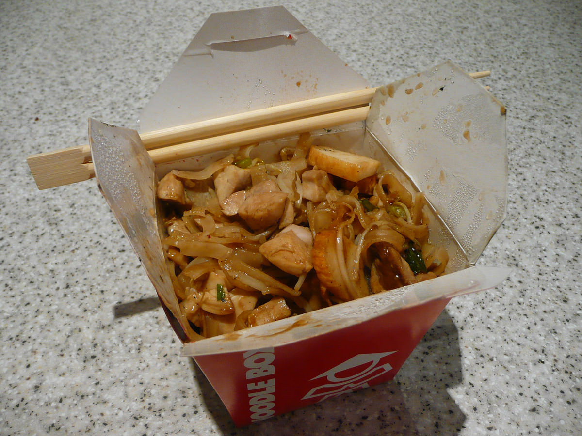 Pad Thai from Noodlebox