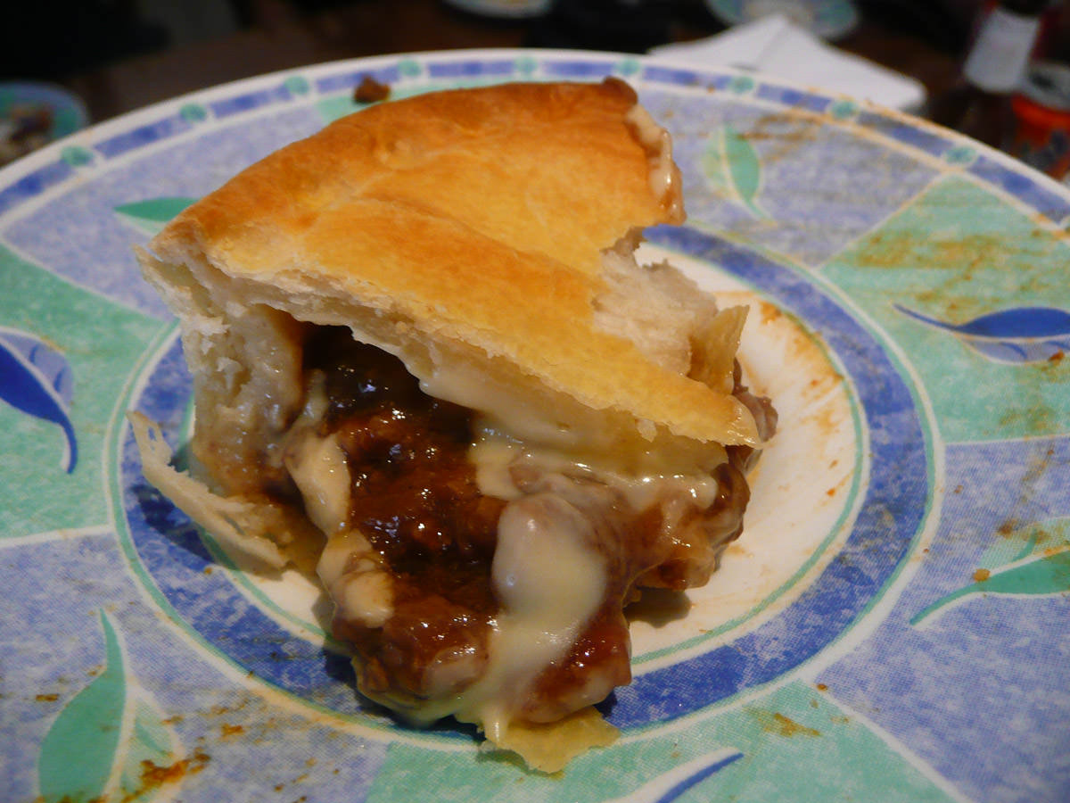 Beef and cheese pie