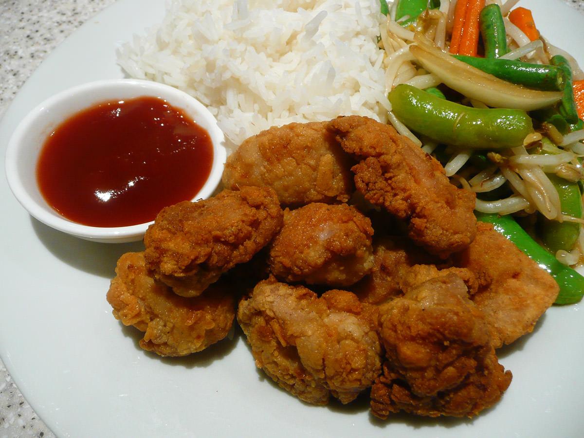 Fried chicken close-up