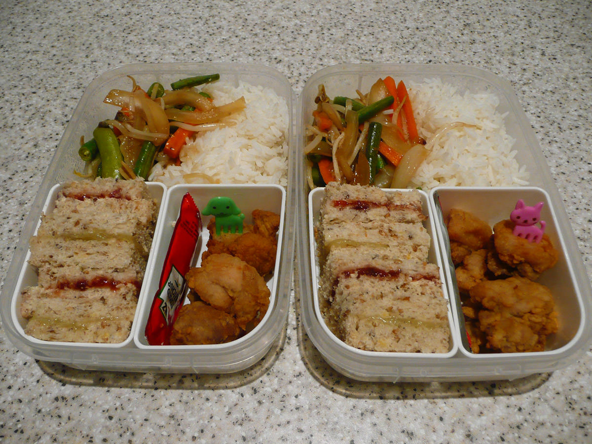 Bento lunches for two