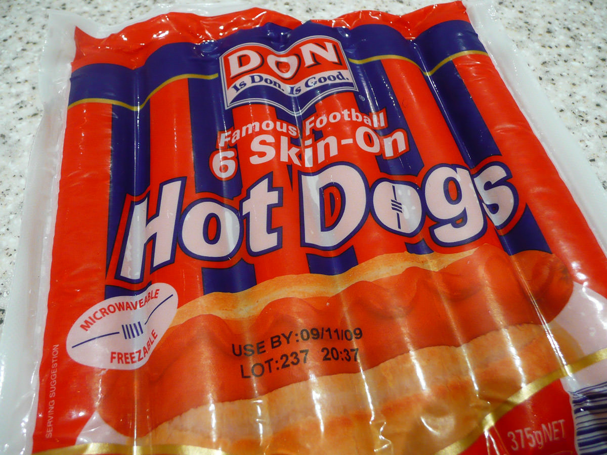 Don Skin-On Hot Dogs