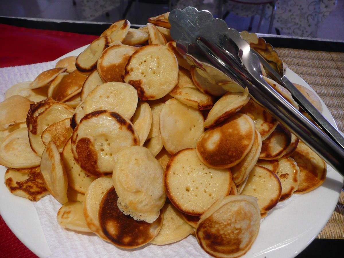 Poffertjes - Dutch mini pancakes