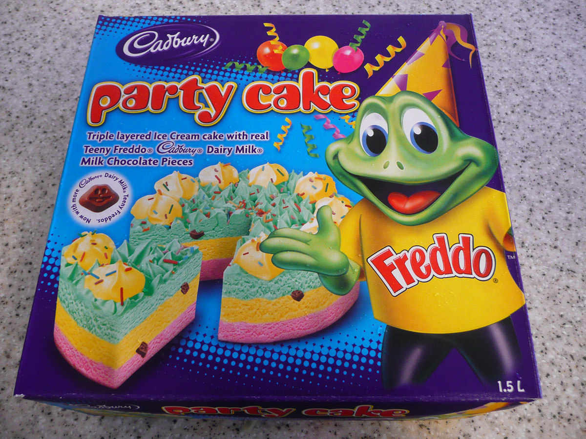 Freddo Party Ice Cream Cake
