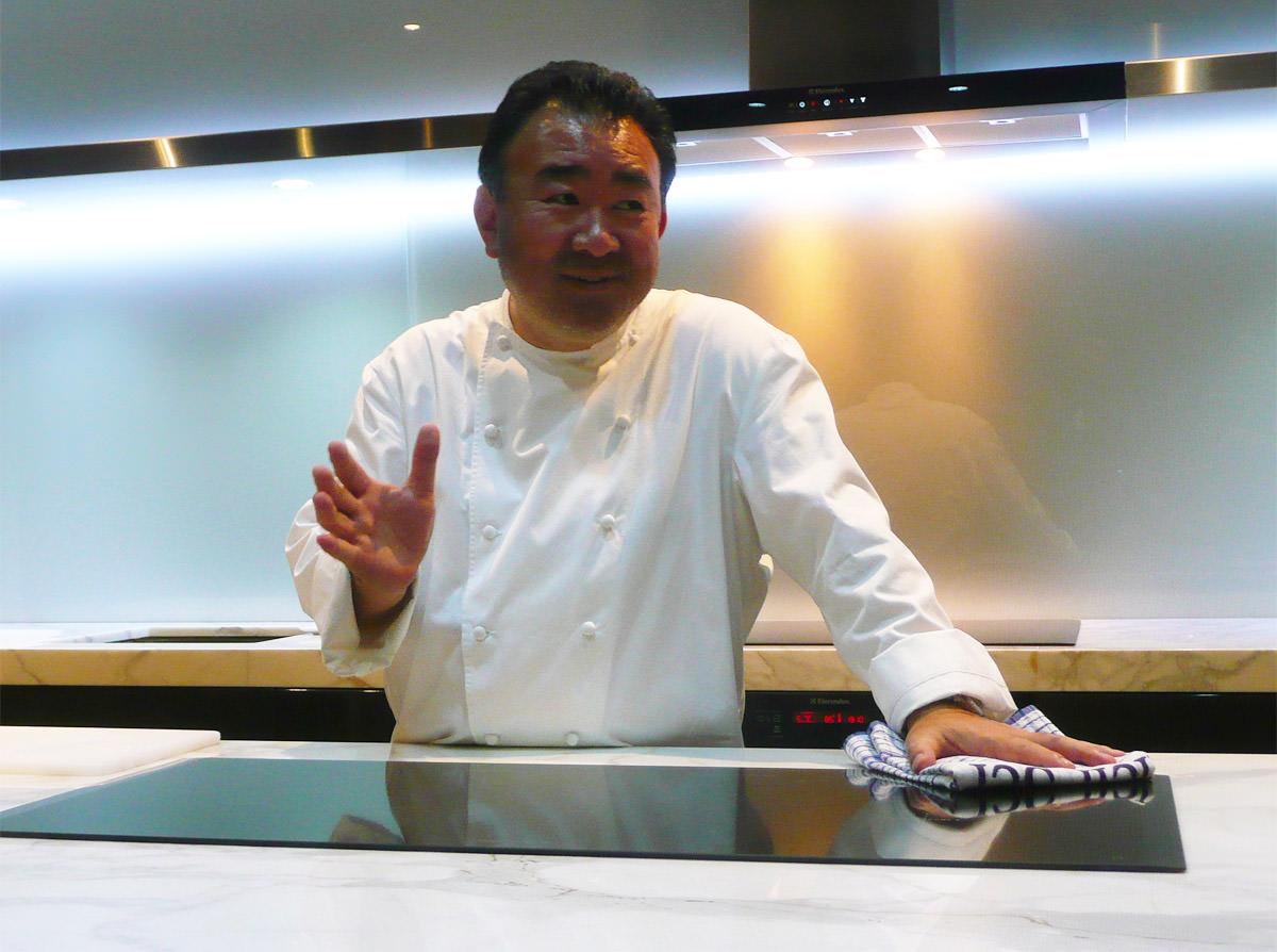 Chef Tetsuya Wakuda, the master of the class