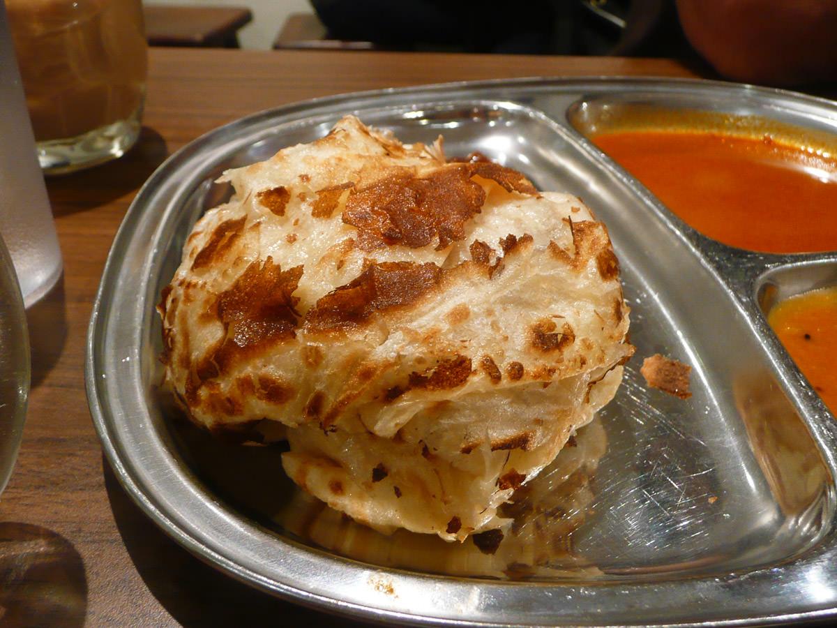 Roti canai close-up