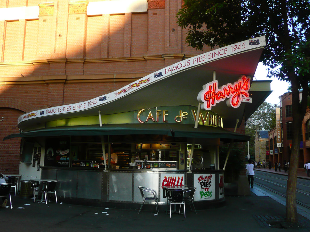 Harry's Cafe De Wheels, Haymarket, Sydney