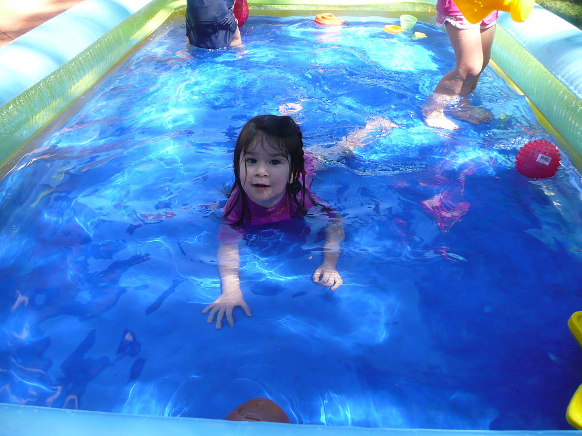 Ruby in the pool