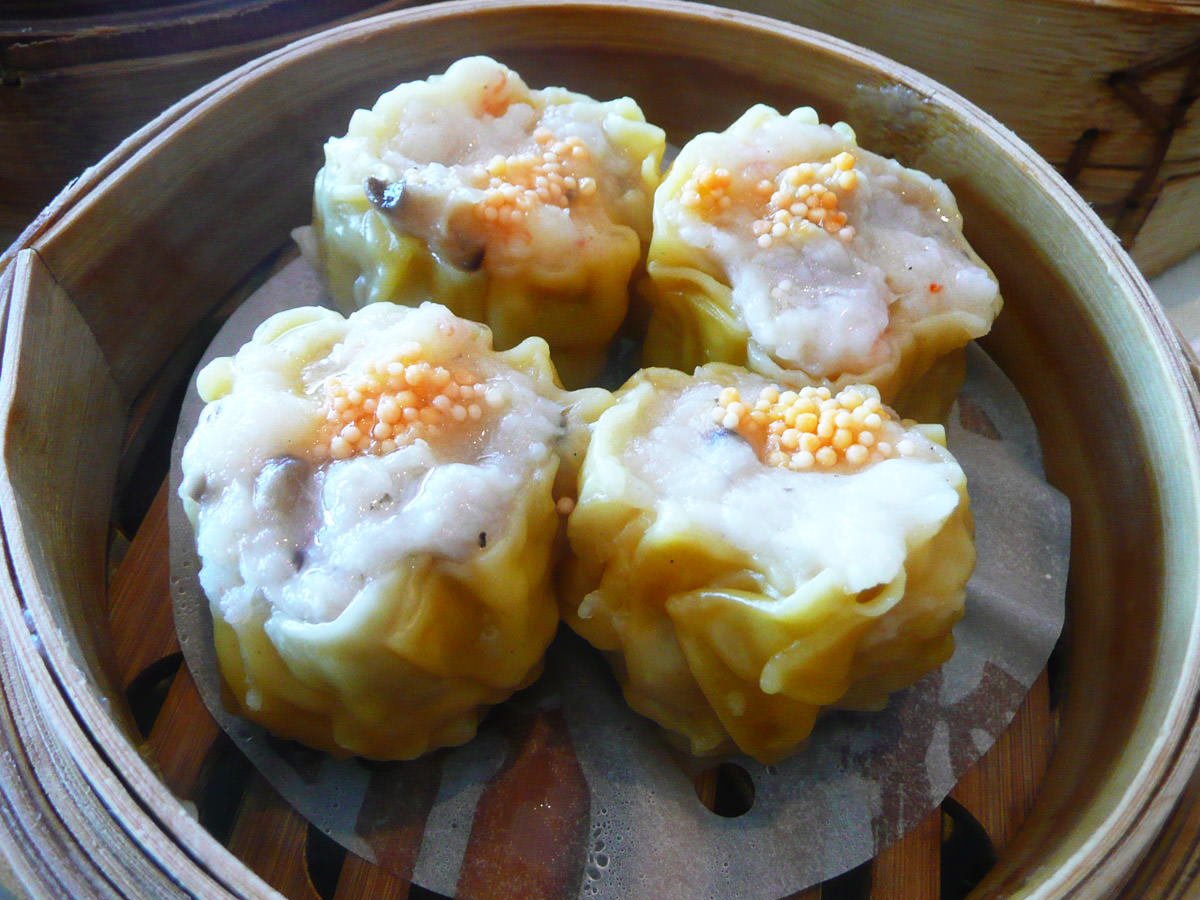 Siew mai (steamed pork dumplings)