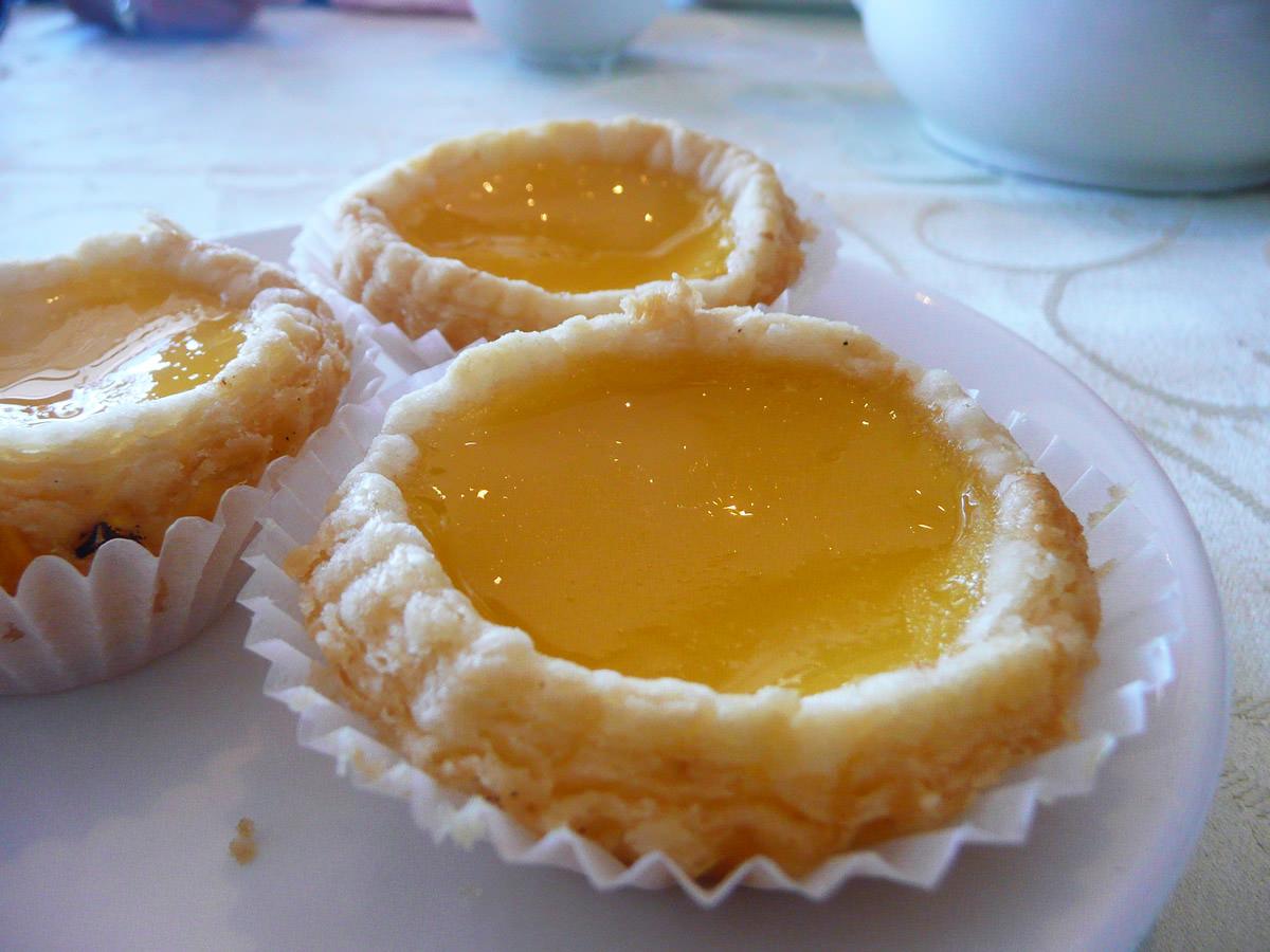 Egg tarts - my must-have dim sum item